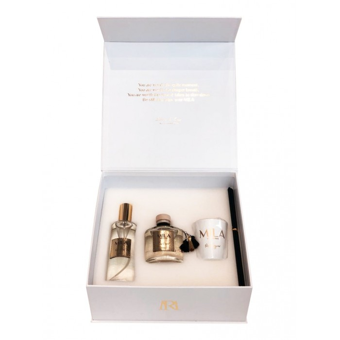 White Trio Scent Box