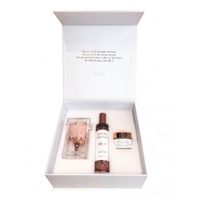 Mila White Care Box