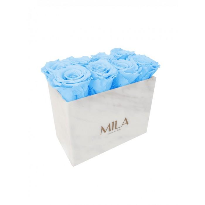 Mila Acrylic White Marble