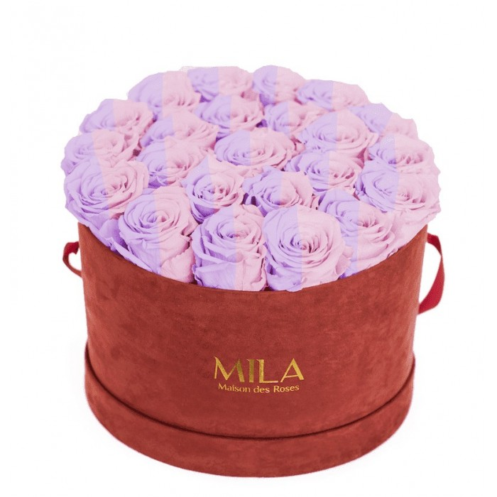 Mila Burgundy Velvet Large