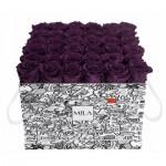 Mila-Roses-01499 Mila Limited Edition Cochain - Velvet purple