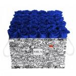 Mila-Roses-01503 Mila Limited Edition Cochain - Royal blue