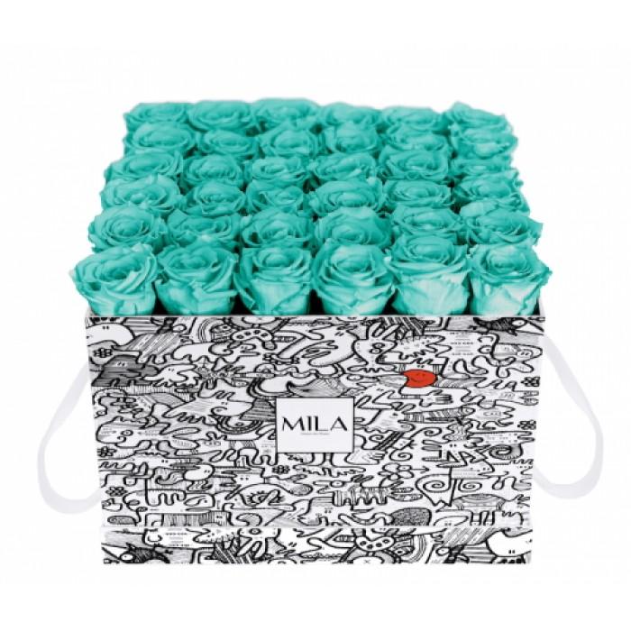 Mila Limited Edition Cochain - Aquamarine