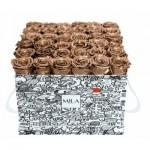 Mila-Roses-01507 Mila Limited Edition Cochain - Metallic Copper