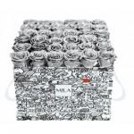 Mila-Roses-01508 Mila Limited Edition Cochain - Metallic Silver