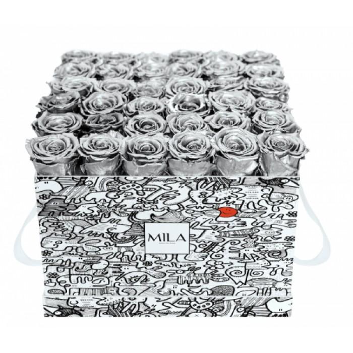 Mila Limited Edition Cochain - Metallic Silver