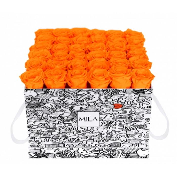 Mila Limited Edition Cochain - Orange Bloom
