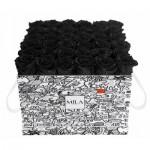 Mila-Roses-01517 Mila Limited Edition Cochain - Black Velvet