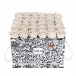 Mila-Roses-01518 Mila Limited Edition Cochain - White Cream