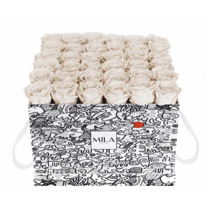 Mila Limited Edition Cochain - White Cream