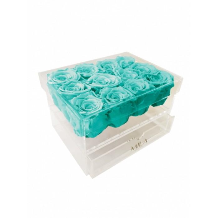 Mila Acrylic Medium Bijou - Aquamarine