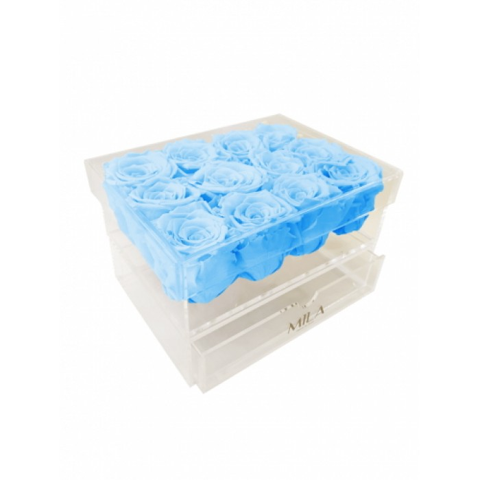 Mila Acrylic Medium Bijou - Baby blue