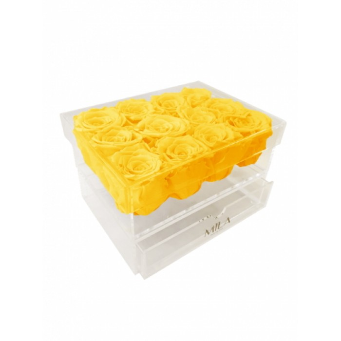 Mila Acrylic Medium Bijou - Yellow Sunshine
