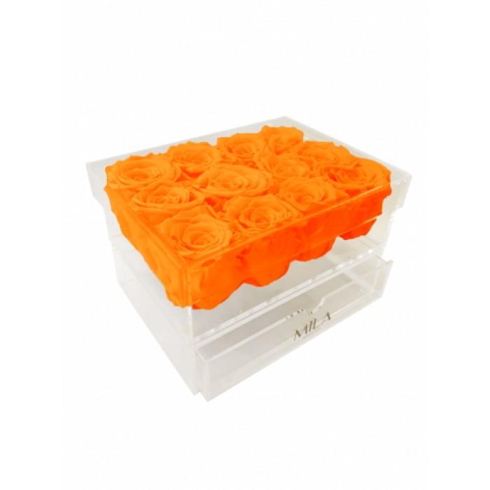 Mila Acrylic Medium Bijou - Orange Bloom