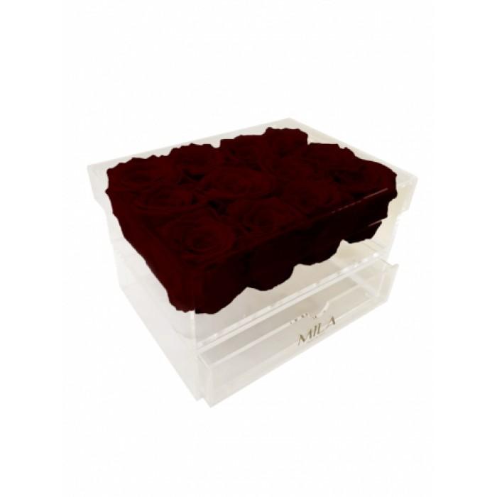 Mila Acrylic Medium Bijou - Rubis Rouge