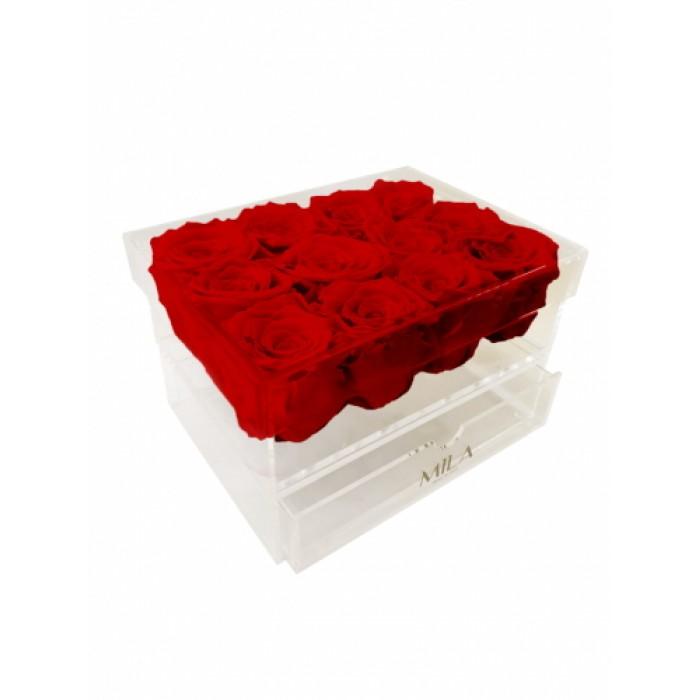 Mila Acrylic Medium Bijou - Rouge Amour