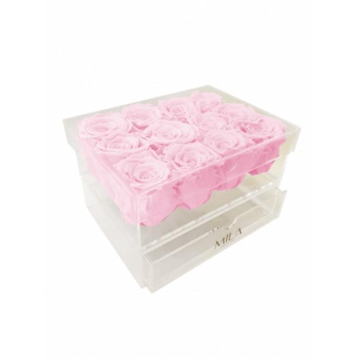 Mila Acrylic Medium Bijou - Pink Blush