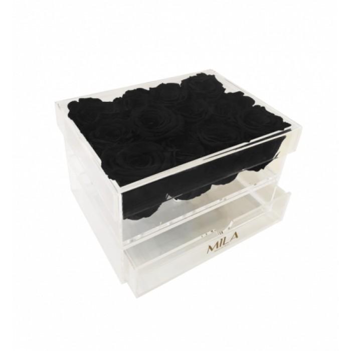 Mila Acrylic Medium Bijou - Black Velvet