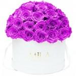 Mila-Roses-01554 Mila Classique Large Dome White - Violin