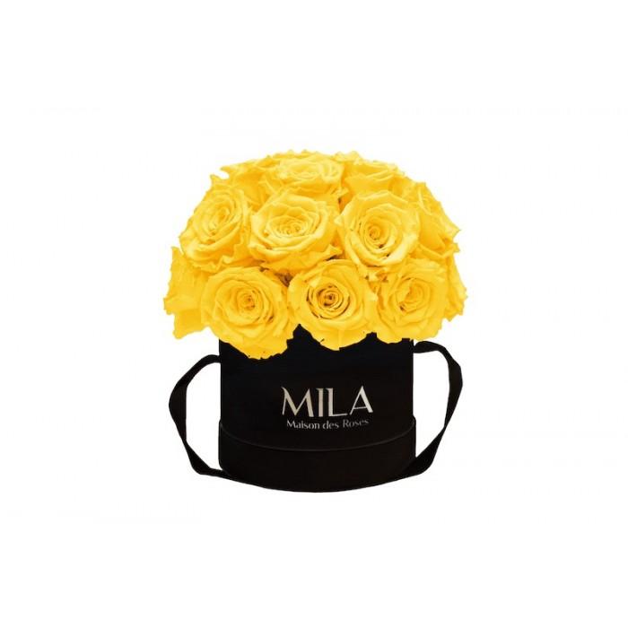 Mila Classique Small Dome Black - Yellow Sunshine