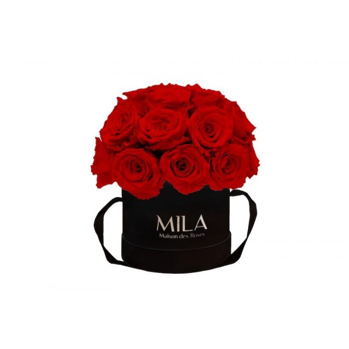 Mila Classique Small Dome Black - Rouge Amour