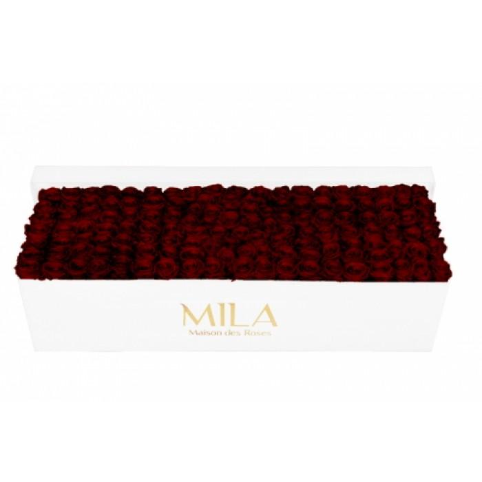 Mila Classic Royal White - Rubis Rouge