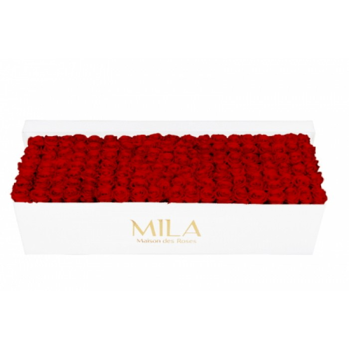 Mila Classic Royal White - Rouge Amour