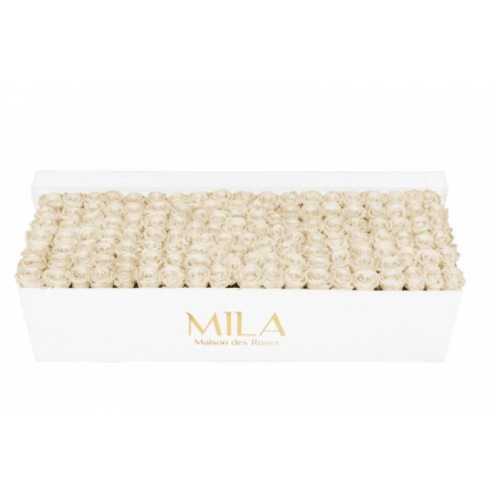 Mila Classic Royal White - White Cream